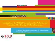 Introduction to the UNESCO Convention on the Protection