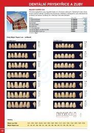 dentální pryskyřice a zuby - ESHOP-rychle