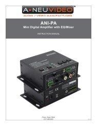 ANI-PA - Ram Electronic Industries