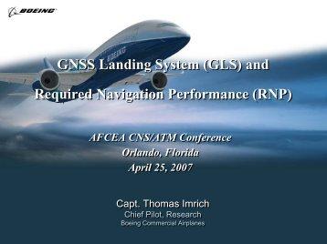 GNSS Landing System (GLS)