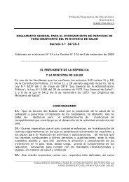 Reglamento general para el otorgamiento de permisos de ...