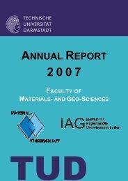 Annual Report_2007_final - Technische Universität Darmstadt