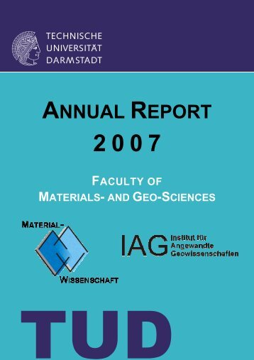 Annual Report_2007_final - Technische Universität Darmstadt