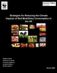 Strategies for Reducing the Climate Impacts of Red Meat ... - WWF UK
