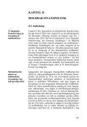 Kapitel II - De Økonomiske Råd