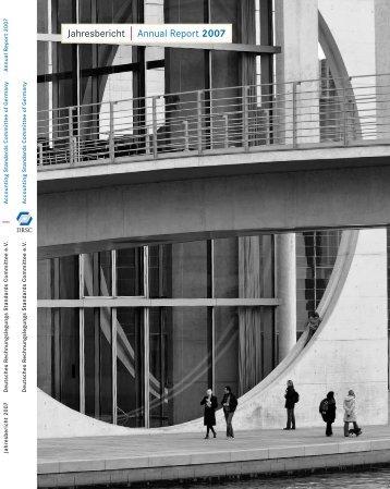 DRSC im Jahresbericht Annual Report 2007