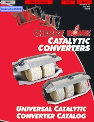 TYPE APPROVED  CATALYTIC CONVERTER  VK8040T