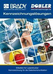 Katalog LAT Etiketten für die Datenkommunikation