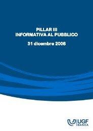 [20090520160438]Rizzom - Pillar 3 Informativa al ... - Unipol Banca