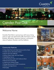 eBrochure_Post Oak - Camden