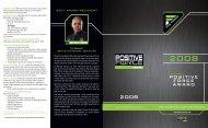 POSITIVE FORCE AWARD - VF Imagewear