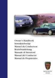 Rover 75 Owner's Handbook - 3rd Edition - Eng - RoverClub-BG.com