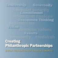 Creating Philanthropic Partnerships