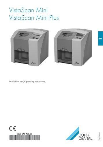 VistaScan Mini manual - PROFI - dental equipment