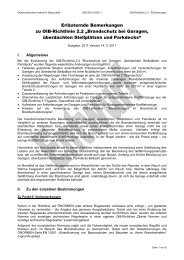 """Erläuternde Bemerkungen zu OIB-Richtlinie 2.2 """"Brandschutz bei ..."""