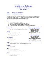 Periodebrev for BLÅ gruppe - Linksidene