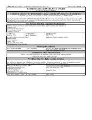 CERTIFICATE OF SERVICE - BMC Group