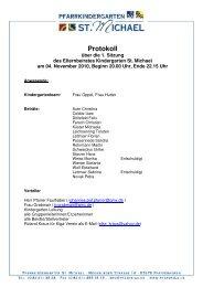 Protokoll 1. Sitzung Elternbeirates_04.11.2010
