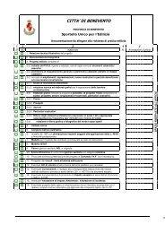 Documentazione da allegare alla richiesta di pratica edilizia