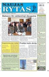 2011 m. vasario 23 d. (Nr. 14) - Naujas rytas
