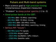 Pulsars and Multi-band systems