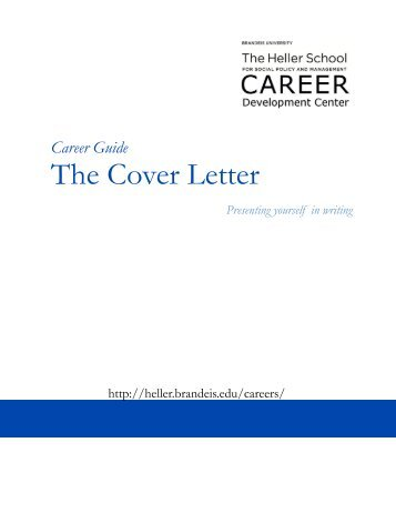 Cover Letter Umich Career Center