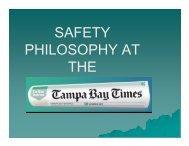 Safety Presentation Alvin Nesmith - Metro Users Group