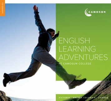 ENGLISH LEARNING ADVENTURES - Camosun College