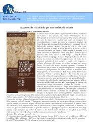 Articolo di Avvenire sul Convegno - ArezzoGiovani.it