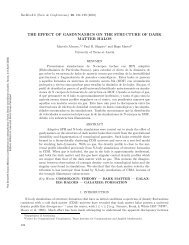 the effect of gasdynamics on the structure of dark matter halos