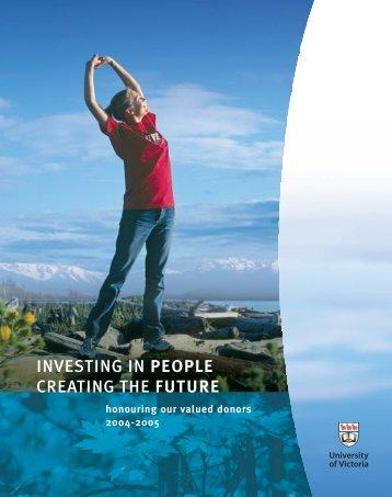PEOPLE - UVIC Communications - University of Victoria