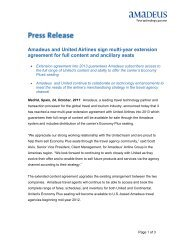Amadeus and United Airlines sign multi-year extension agreement ...