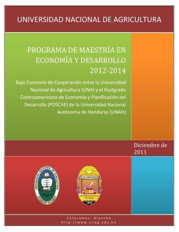 programa de maestría en economía y desarrollo 2012-2014