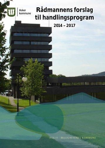 RÃ¥dmannens forslag til handlingsprogram - Asker kommune