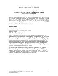 WHLP Use of Medicines.pdf - The network - Towards Unity For Health