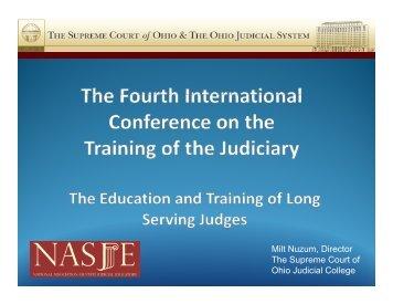 Milt Nuzum Director Milt Nuzum, Director The Supreme Court of ...