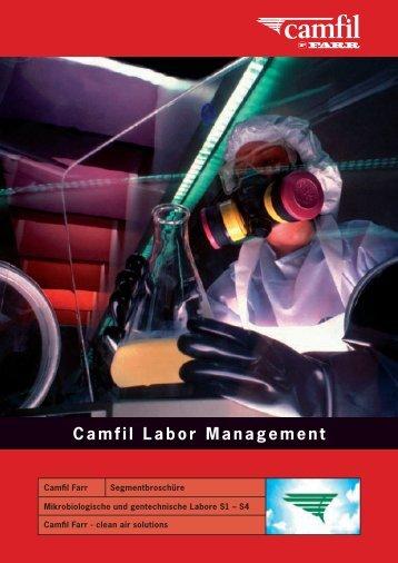 Camfil Labor Management - BERNER International GmbH