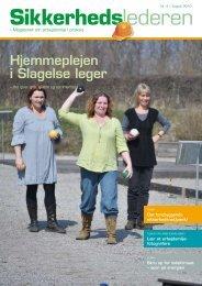 Medlemsblad nr. 4 2010 - Arbejdsmiljønet