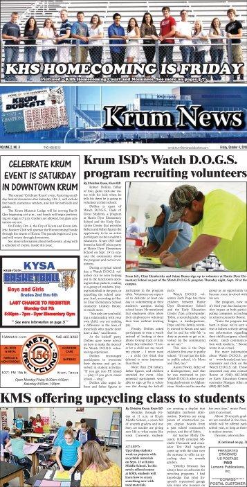 KHS HOMECOMING IS FRIDAY - Lemons Publications
