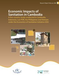 Economic Impacts of Sanitation in Cambodia - WSP