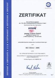 pewag austria GmbH ISO 3834-2:2005 › Download - pewag group