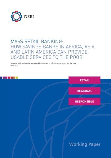 mass retail banking: how savings banks in africa, asia and ... - Wsbi