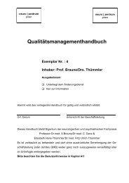 QM-Handbuch - Neurozentrum Prien