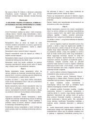 PRAVILNIK O USLOVIMA I NAČINU OTVARANJA ... - ProCredit