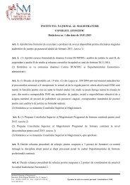 Hotarare 1_15_01_2013.pdf - Institutul Naţional al Magistraturii