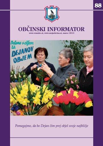 Obcinski informator st. 88 - Občina Vransko