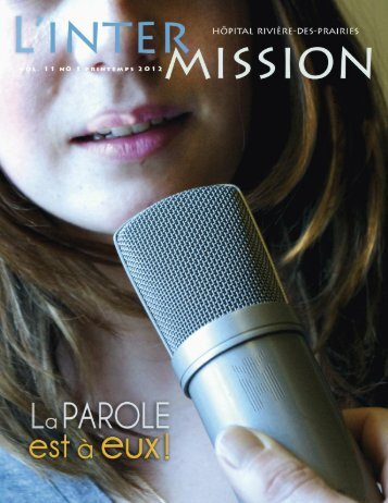 Volume 11 no 1 - Hôpital Rivière-des-Prairies
