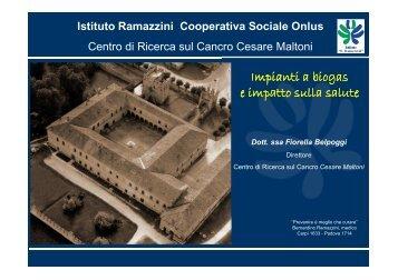 Impianti a biogas e impatto sulla salute - Comune di San Pietro in ...