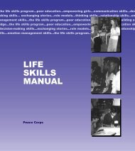 Life Skills Manual - PreventionWeb