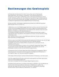 Bestimmungen des Gewinnspiels - PortAventura